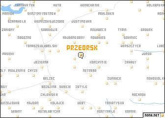 map of Przeorsk