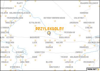 map of Przyłęk Dolny