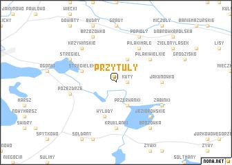 map of Przytuły
