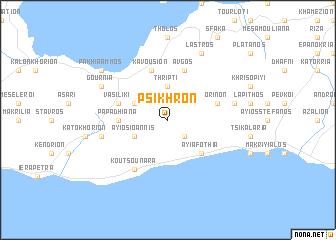 map of Psikhrón