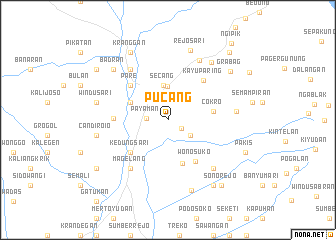 map of Pucang