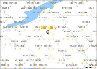 map of Puchały