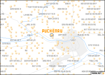 map of Puchenau