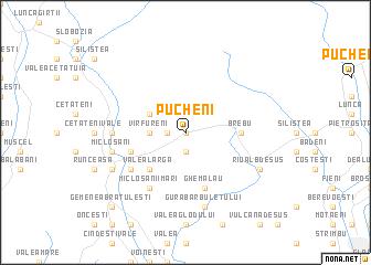 map of Pucheni