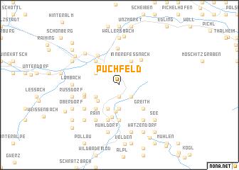 map of Puchfeld