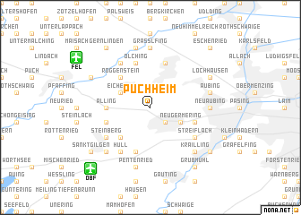 map of Puchheim