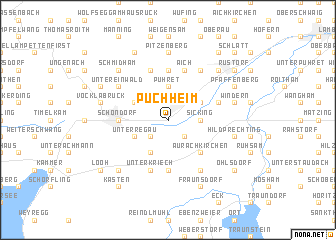 map of Puchheim