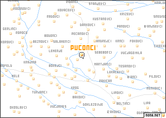 map of Puconci