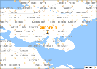 map of Puddemin