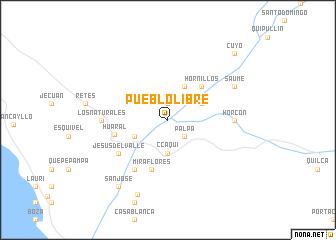 map of Pueblo Libre