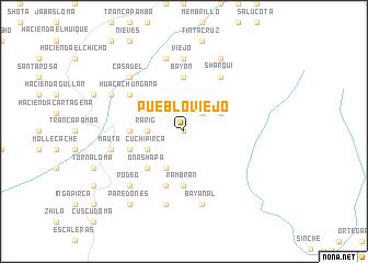 map of Pueblo Viejo