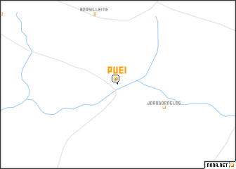 map of Puei
