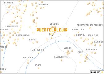 map of Puente La Lejía