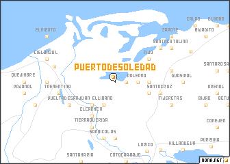map of Puerto de Soledad