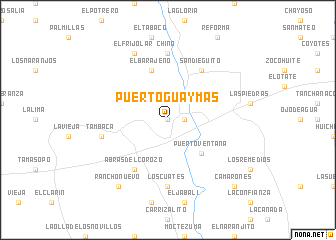 Puerto Guaymas Mexico Map Nona Net