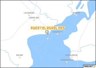 Puerto Las Palmas Argentina map nonanet