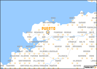 map of Puerto