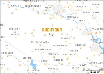 map of Pughtown