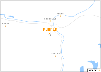 map of Puhala