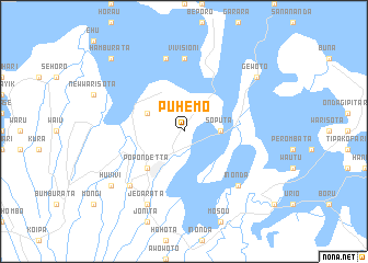 map of Puhemo