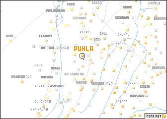 map of Puhla