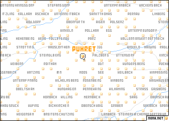 map of Pühret
