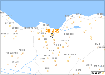 map of Puijas