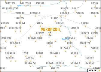 map of Pukarzów