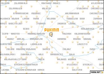 map of Pukinin