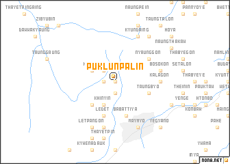 map of Puklun Palin