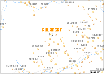 map of Pulangat