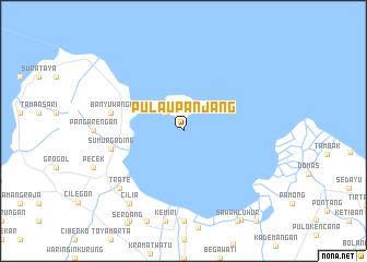 map of Pulaupanjang