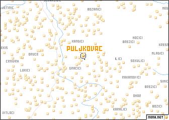 map of Puljkovac