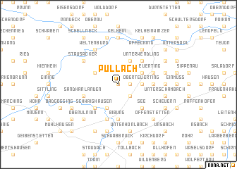 map of Pullach