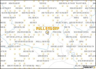 map of Pullendorf