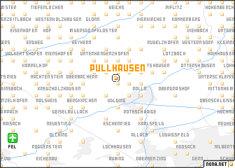 map of Pullhausen