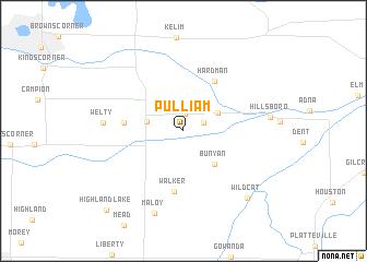 map of Pulliam