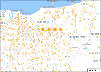 map of Pulo Gadung