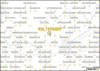 map of Pultendorf