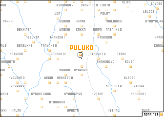 map of Puluko