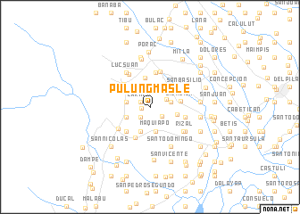 map of Pulungmasle