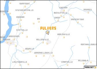 map of Pulvers