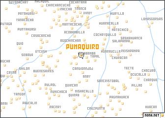 map of Pumaquiro