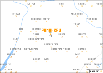 map of Pumhkrau