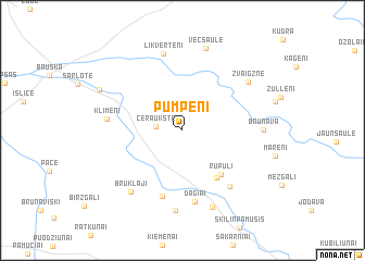 map of Pumpēni