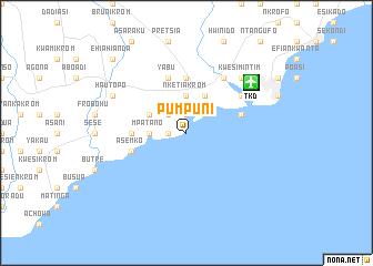 map of Pumpuni