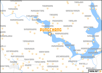 map of P\