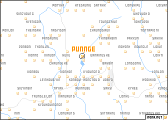 map of Pun-nge