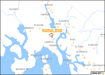 map of Punuloso
