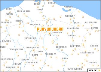 map of Punyurungan